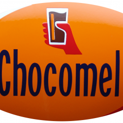 Cécémel enamel advertising sign