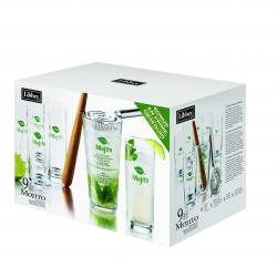 Libbey - 9 pieces Mojito Cocktail Set